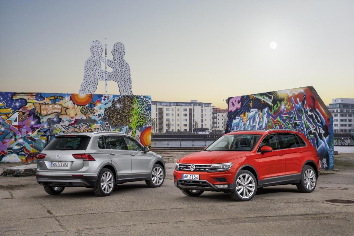 Designet er strammere, linjer skarpere og Tiguan har fået mere x-faktor. Mekanisk er den blevet 10-20 pct. bedre – som altid når VW hæver barren med en ny model.