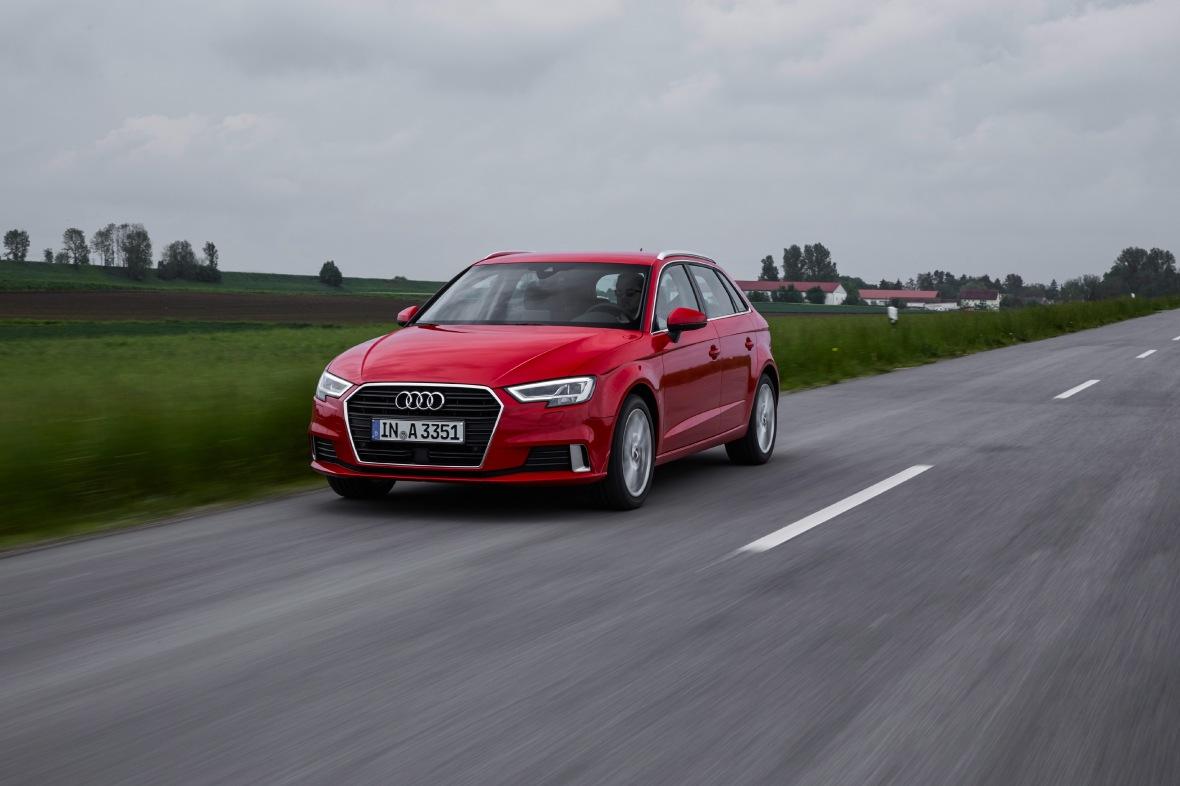 Ny og mere aggressive lygter er en klassisk Audi-facelift specialitet