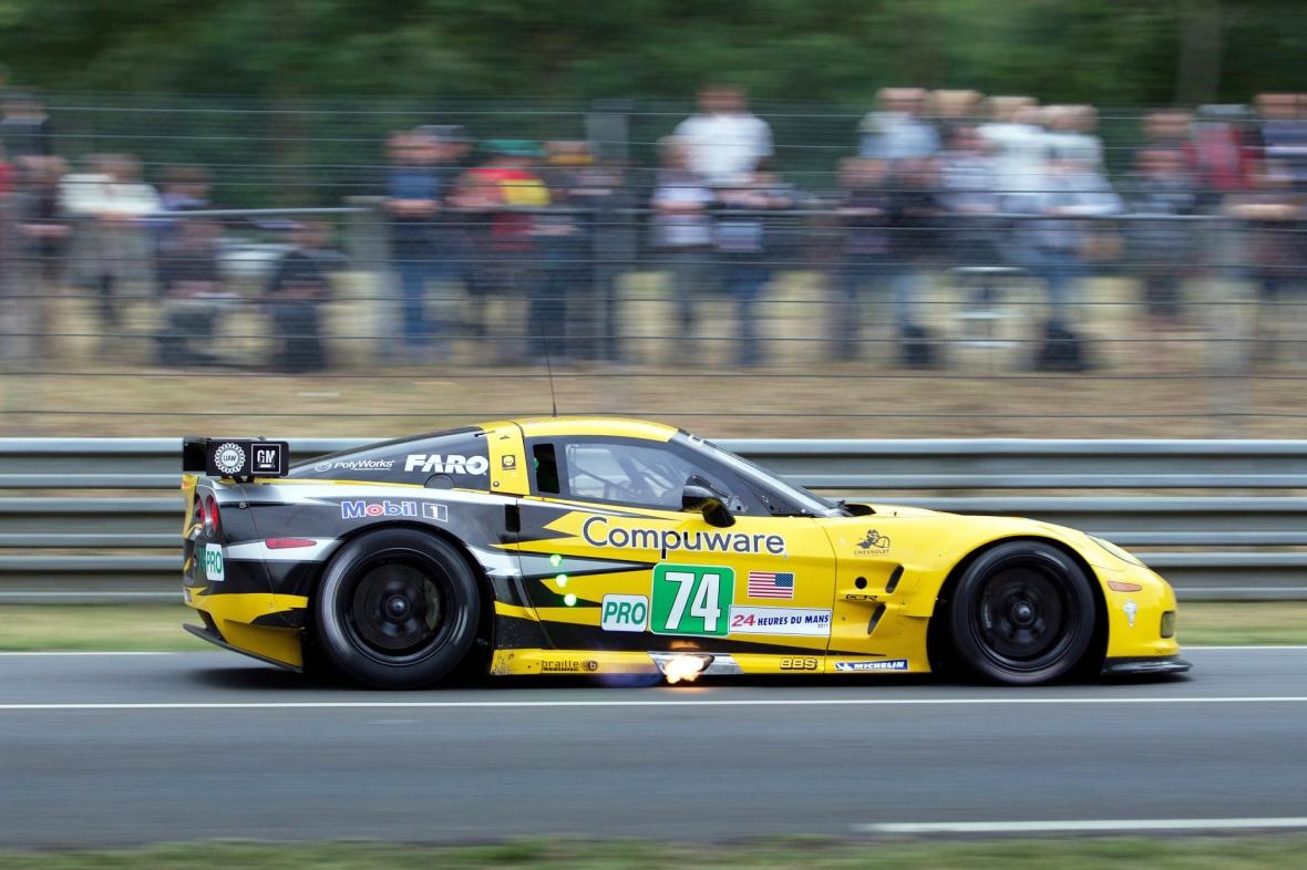 Jan Magnussens gule lyn – den larmende Corvette, der har Le Mans allerfedeste soundtrack.