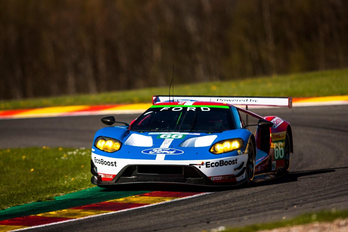 Ford GT da den blev nummer to på Spa i foråret. I weekenden gælder det årets helt store opgave: Le Mans, og kun sejren i GTE Pro klassen tæller!