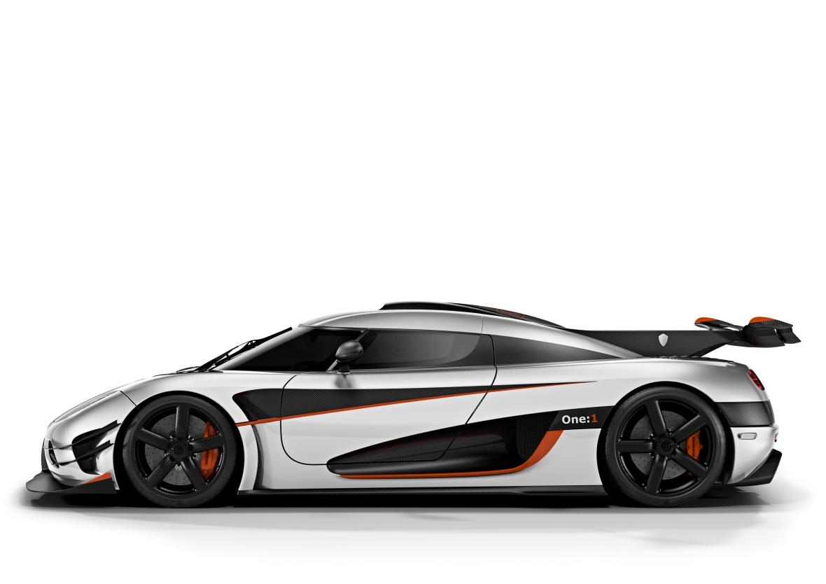 Den svenske hyperbil er den første hvor vægten og antallet af hk er en-til-en. Deraf navnet...