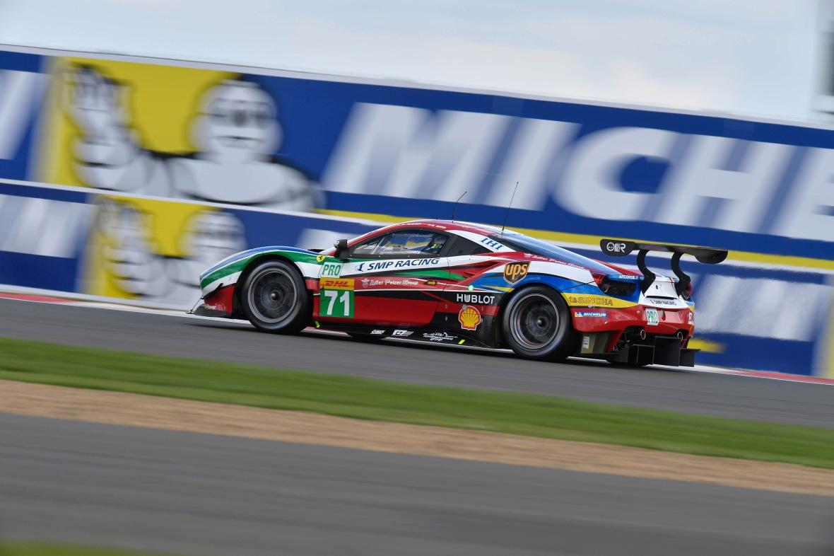 Ferrari 488 har favoritværdigheden i GTE Pro klassen med deres helt nye turbo-bil.