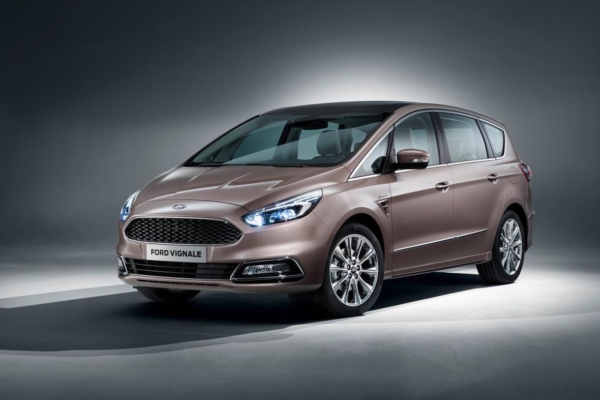 S-Max Vignale er  den mest vellykkede Ford Vignale model. Den kommer på det danske marked i sidste halvdel af 2016.