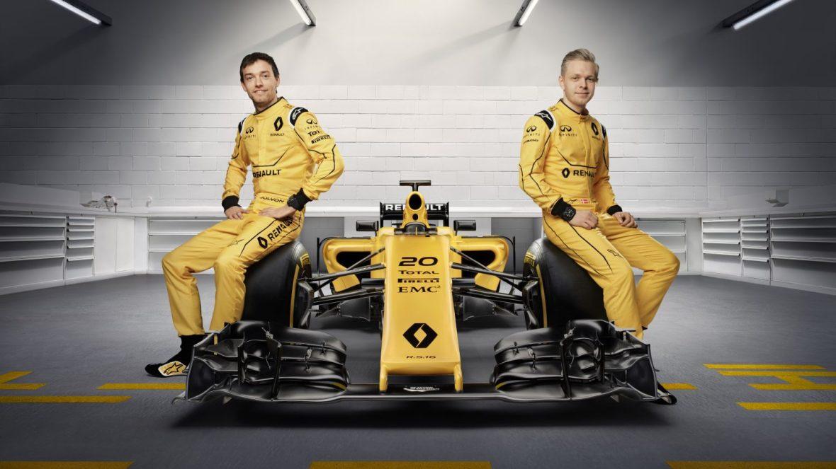Palmer og Magnussen nyder godt af Renaults Formel 1 engagement, men bilen har ikke meget med en ny Twingo at gøre.